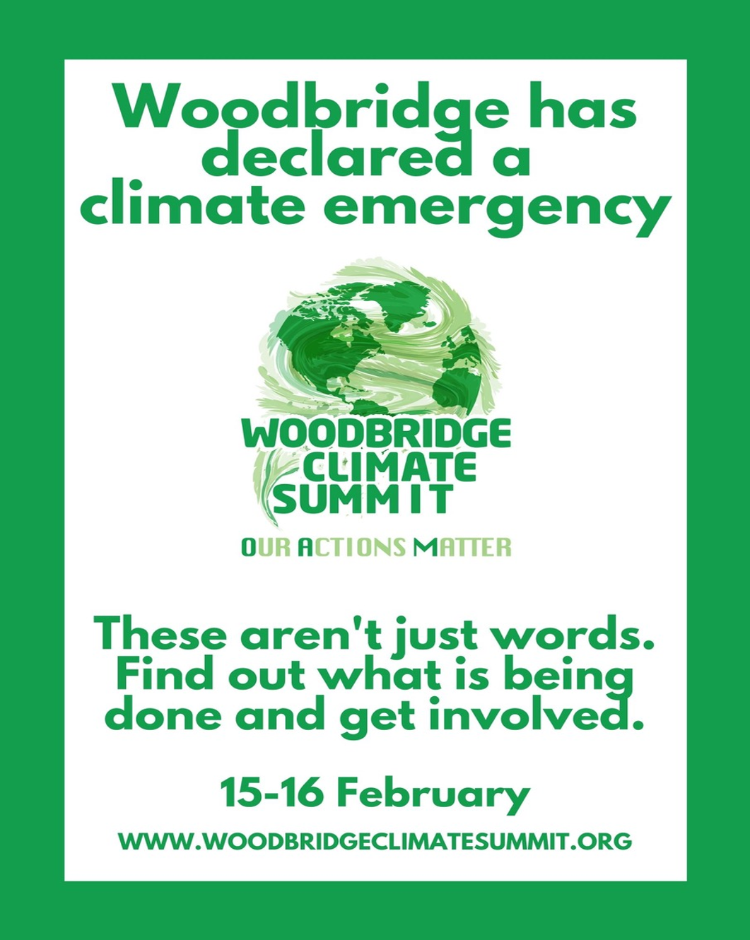 Woodbridge Climate Summit